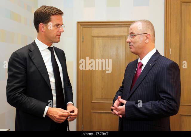 Maurits Hendriks Netherlands Prime Minister Mark Rutte L: Official Residence Rutte Stock Photos & Official Residence