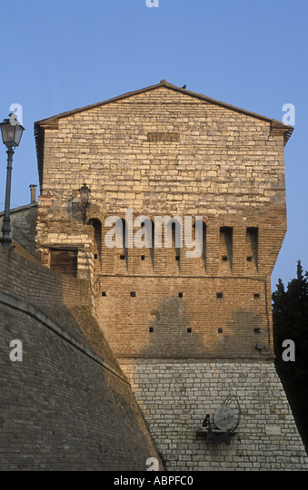 Antique town walls - Stock Image