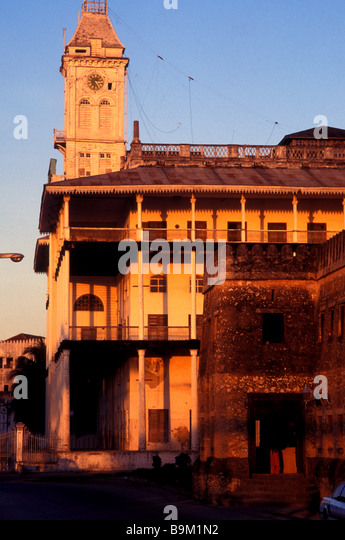 old fort stone town zanzibar stock photos old fort stone town zanzibar stock images alamy. Black Bedroom Furniture Sets. Home Design Ideas