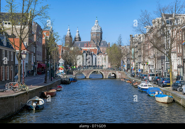 Basilica of St. Nicholas, Amsterdam, North Holland, Netherlands - Stock Image
