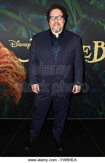 epa05237333 US director Jon Favreau arrives for the global premiere of his movie 'The Jungle Book' in Sydney, - Stock Image