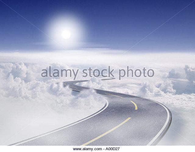 Geschäft Weg zum Erfolg FR67 21 Stockbild