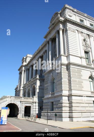 Bibliothek des Kongresses Thomas Jefferson Building Washington DC Oktober 2006 Stockbild
