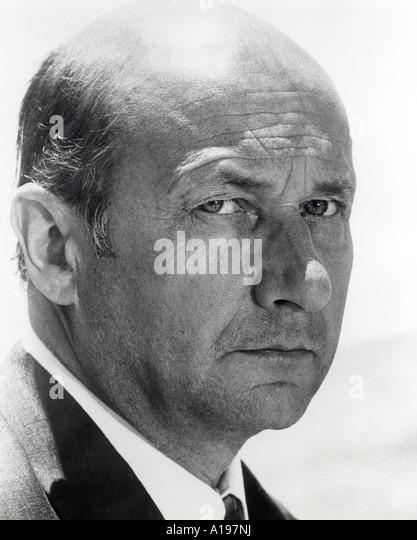 DONALD PLEASENCE UK Schauspieler 1919 bis 1995 Stockbild