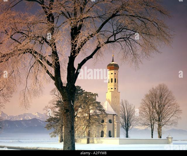 DE - Bayern: St. Koloman in der Nähe von Schwangau Stockbild