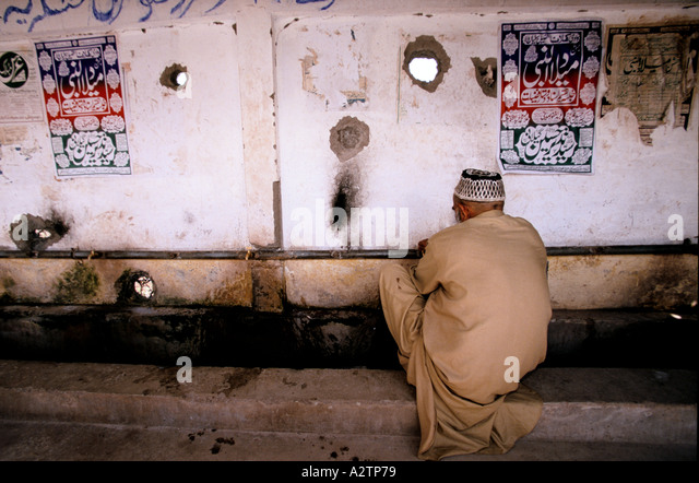 Kaschmir-Konflikt Stockbild