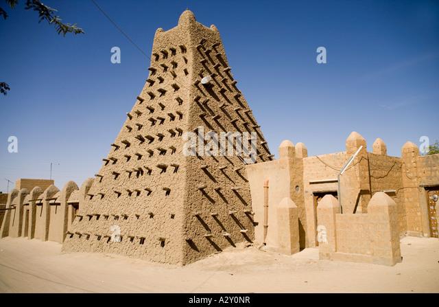 Sankore Moschee in Timbuktu.Mali,West Afrika Stockbild