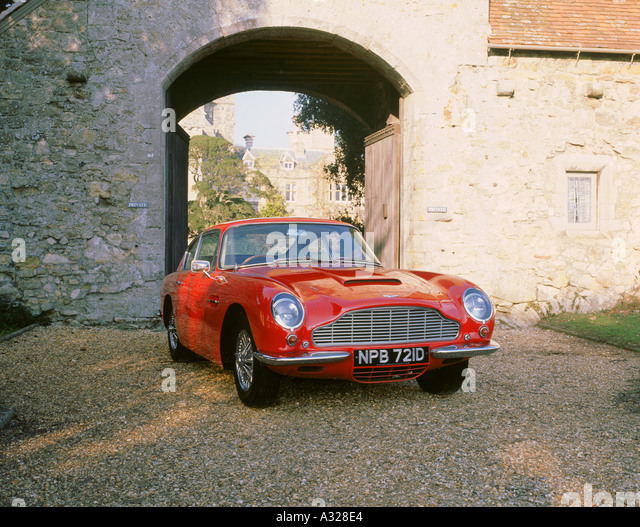 1966 Aston Martin DB6 Vantage Stockbild