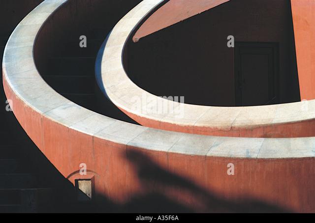 AMA JM09 Jantar Mantar Sternwarte Delhi Indien Stockbild