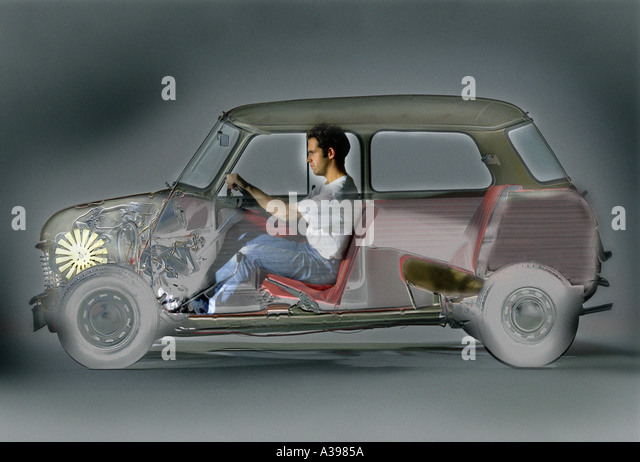 X-Ray Auto Stockbild