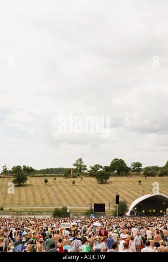 Sommerfestival Stockbild