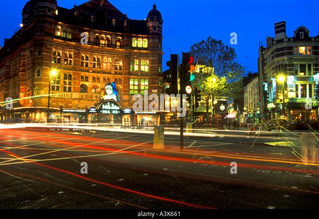 Shaftesbury Avenue West End London Hauptstadt England Vereinigtes Königreich Europa Stockbild