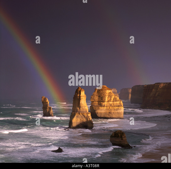 12 Apostel Port Campbell National Park Victoria Australien Stockbild