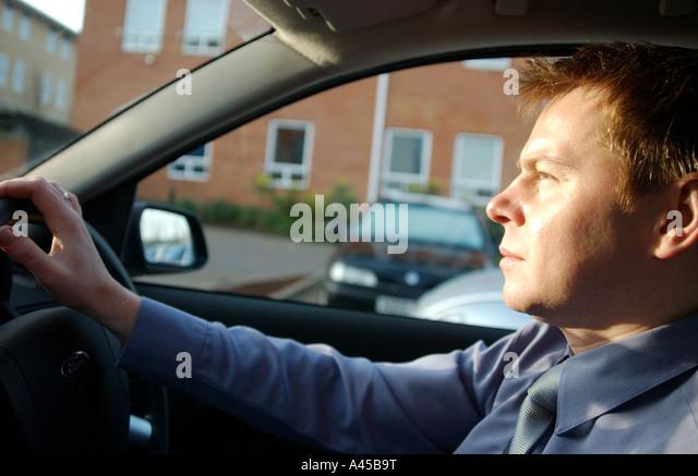 Lizenzfreie kostenlose Foto von britischen Fahrer pendeln in London UK arbeitet hart ganztägig und nach Hause Stockbild