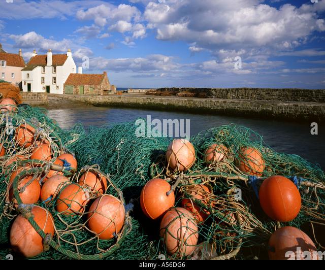 GB - Schottland: Pittenweem Hafen Stockbild