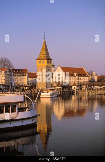 Lindau Im Bodensee, Bayern, Deutschland Stockbild