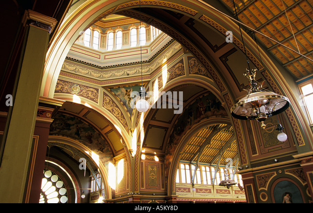 Royal Exhibition Building, Melbourne, Australien Stockbild