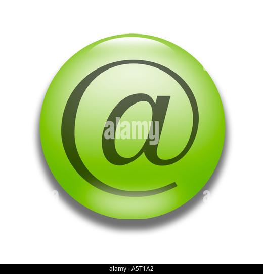 e-Mail-Logo Symbol Symbol Stockbild