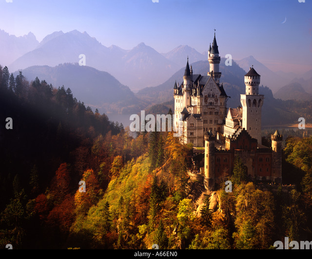 DE - Bayern: Schloss Neuschwanstein Stockbild