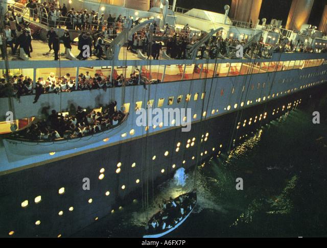 TITANIC 1997 TCF Film geschrieben und unter der Regie von James Cameron Stockbild