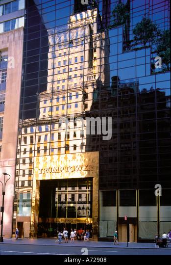Trump Tower in New York City Stockbild
