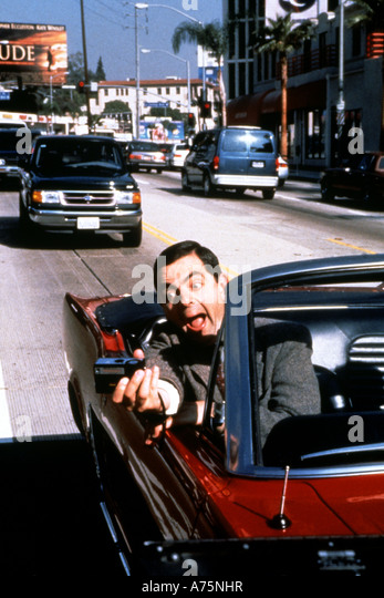 Bohnen Sie-des Films - 1997 Polygram Film mit Rowan Atkinson Stockbild