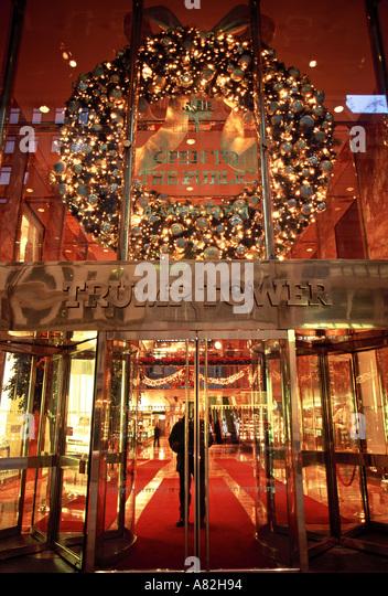 Trump Tower, 5th Avenue, New York City, USA Stockbild