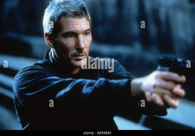 SCHAKAL 1997 Universal Film mit Richard Geere als Declan Mulqueen Stockbild