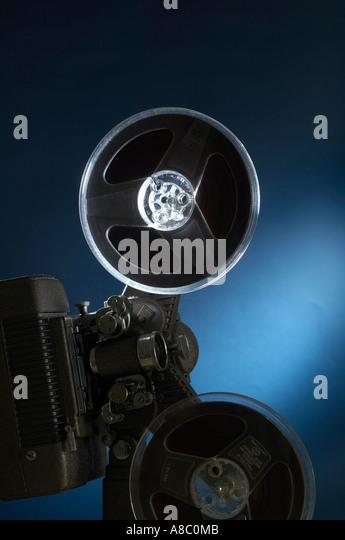 Image Film Equipment pro Blitz Stockbild