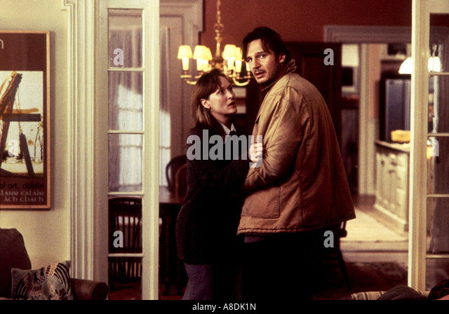 VORHER / nachher - 1996 Buena Vista Film mit Meryl Streep und Liam Neeson Stockbild
