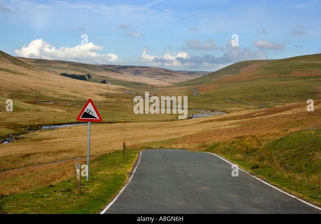Elan-Tal, Powys, Wales, UK. Stockbild