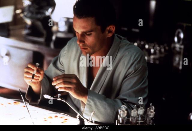 GATTACA - 1997 Columbia Film mit Ethan Hawke Stockbild