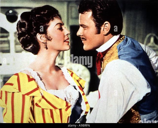 SHOWBOAT - 1951 MGM film Musical mit Howard Keel und Kathryn Grayson Stockbild