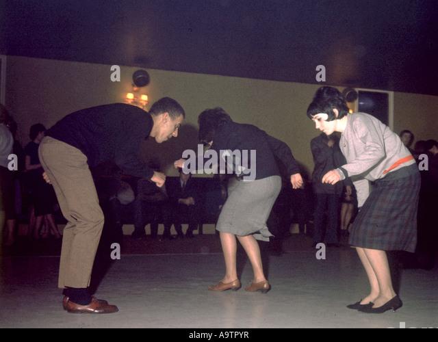 MOD Tänzer im Tanzsaal London 1963 Stockbild
