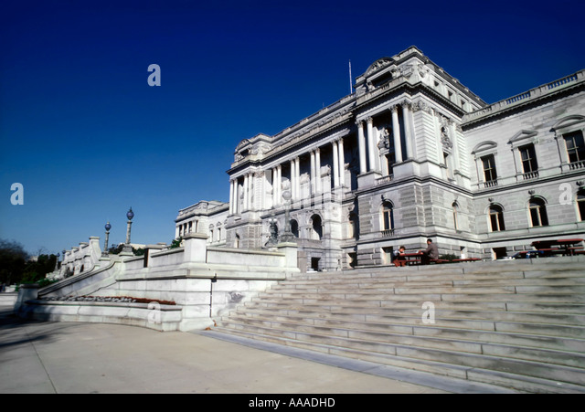 Library of Congress in Washington DC D C District Of Columbia Stockbild