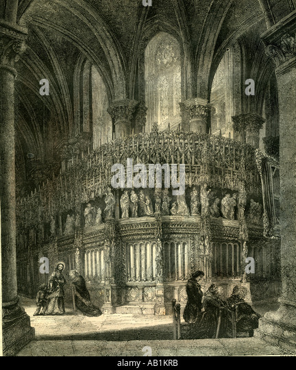 Chartres Kathedrale Cathedrale Frankreich Stockbild
