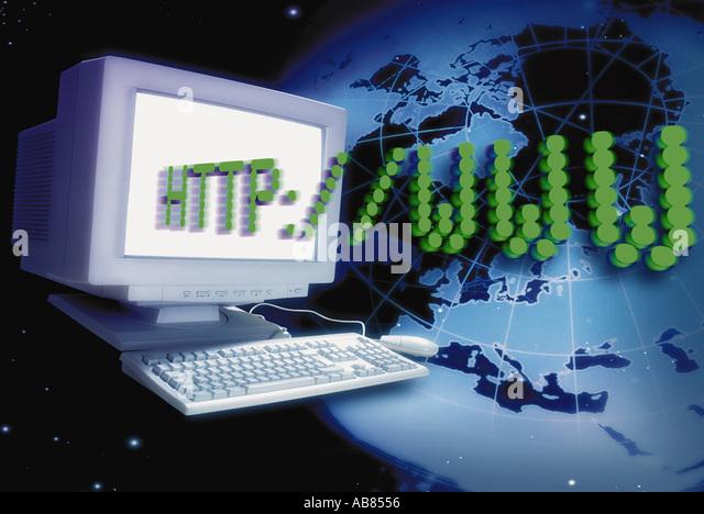 Internet Stockbild