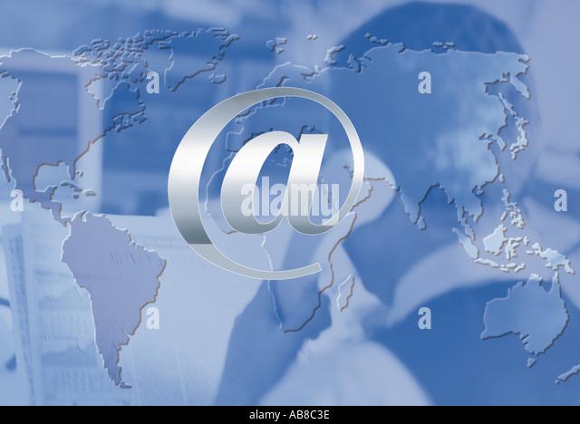 Globale Internet Stockbild