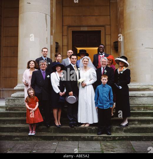 Familienfoto Stockbild