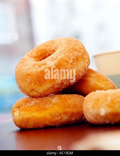 Donuts, close-up Stockbild