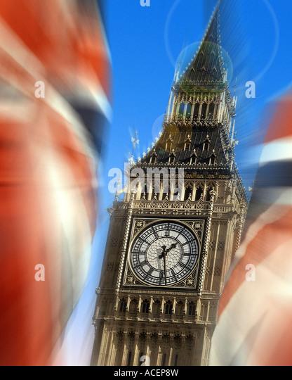 GB - LONDON: Big Ben (Elizabeth Tower) Stockbild