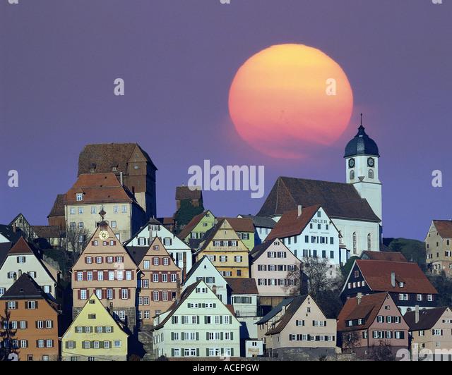 DE - BADEN-WÜRTTEMBERG: Altensteig Stockbild