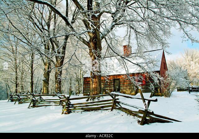 Tempe Docht Haus Jockey hohlen National Historical Park New Jersey Stockbild
