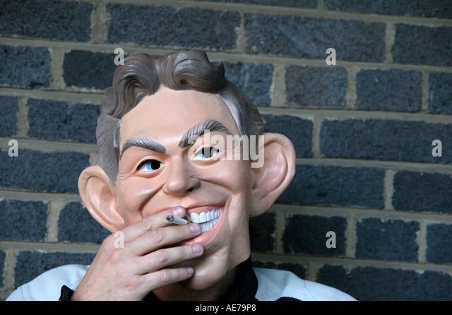 Tony Blair Stockbild