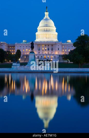 USA-Washington DC der Hauptstadt Gebäude Stockbild