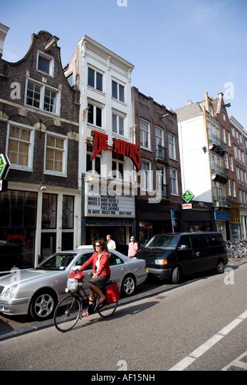 Filme Kino, Amsterdam Stockbild