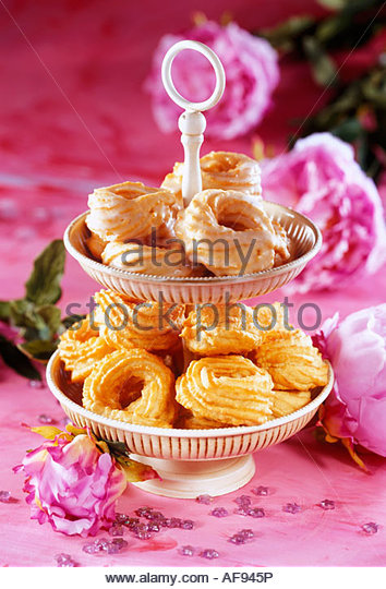 Gewickelten Donut Stockbild