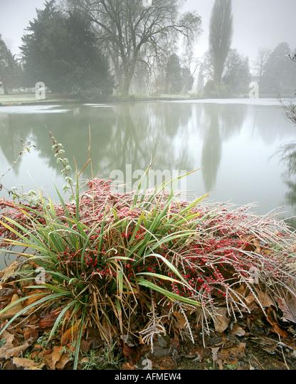GB - GLOUCESTERSHIRE: Herbst in Cheltenham Pittville Park Stockbild