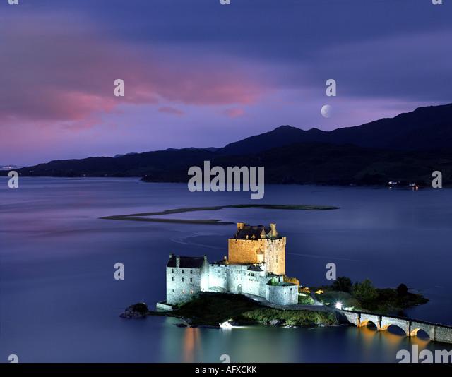 GB - Schottland: Eilean Donan Castle Stockbild