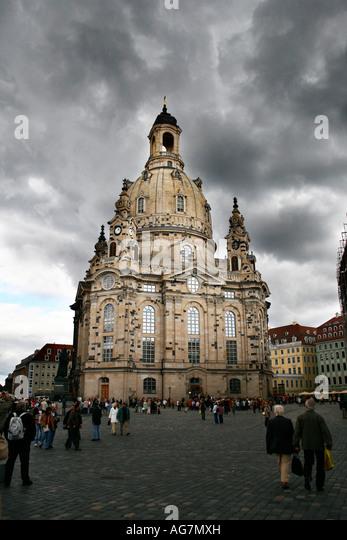 Dresden, FrauenKirche, Deutschland Stockbild